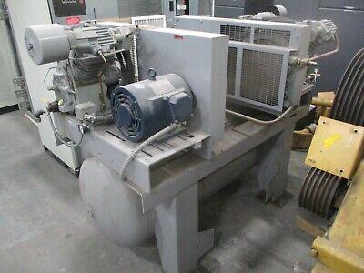 Ingersoll-rand T30 Duplex Air Compressor T307120t 7.5hp 208-230460v Used