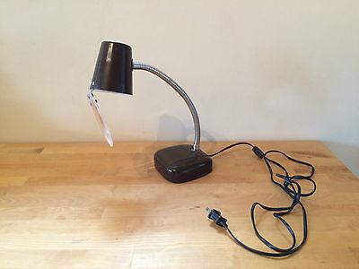 Classic IMSCO Industrial Desk Magnifying Lamp Light 40 Watt 120 Volt Works!