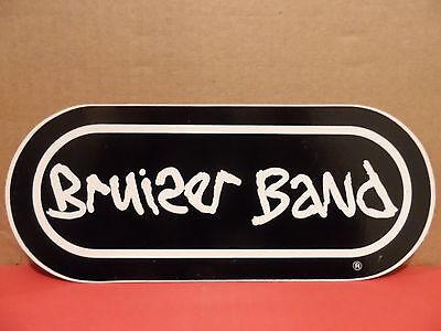 Bruiser Band Vintage Bumper Sticker RARE Dick Bruiser