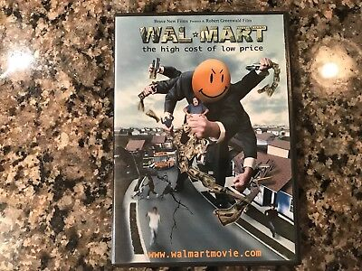 Walmart The High Cost Of Low Price Dvd! 2005 Indie