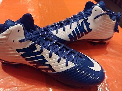 228b34a6d8672 Nike Vapor Speed 3 4 TD PF Size 12.5 Football Cleats Men s 668839 109 Blue  White