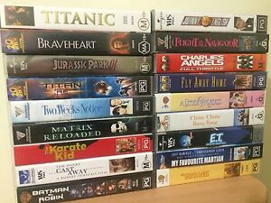 Misc VHS Movies Cameron Park Lake Macquarie Area Preview