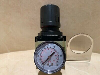 12 Air Regulator Gauge Filter Pressure In Line Compressor Ar4000-04