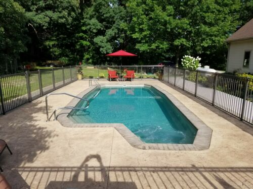 In-Ground Fiberglass Pool - Leading Edge - Manistique -  Do It Yourself Package