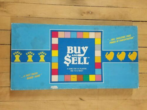 Rare - 1985 Buy & Sell Board Game