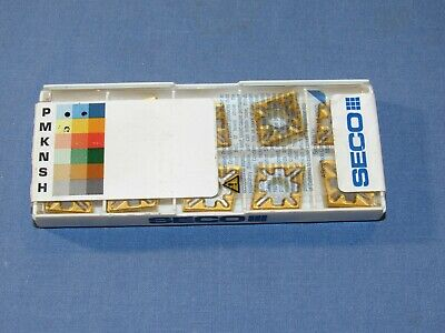 Brand New Seco Turning Carbide Inserts 10pcs.lot Cnmg 432-mf3-tp40