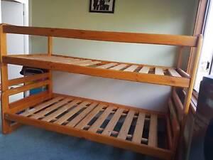 Wooden Bunk Beds Beds Gumtree Australia Launceston Area Kings