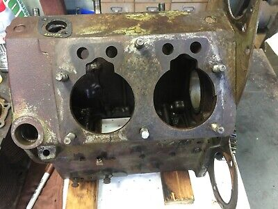 Wisconsin Vh4d Engine Block With Timing Plate And Idler Gear