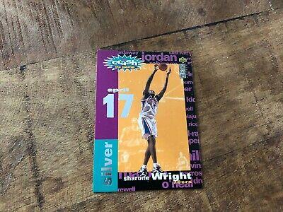 Sharone Wright USA Basketballkarte Upper Deck CC 1995 You Crash the Game Nr. C18