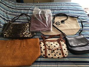 Lot of Purses and Bags 6 some New