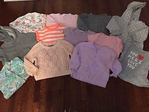 Baby Girl Spring Tops 6 to 9 Months