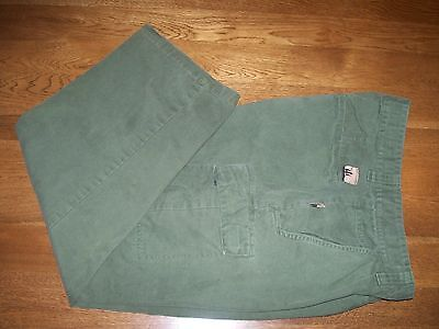0725be4596 Outdoor Life Cargo Utility Pant from Sears Green Canvas 36 x 28.5 Fish Hike  Camp