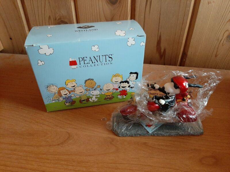 "Peanuts Collection ""Joe Cool on Motorcycle"" Westland Figurine"