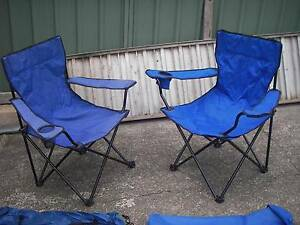 Camping chairs for smaller person $10. @ or $15 the pair Sydney Wentworthville Parramatta Area Preview