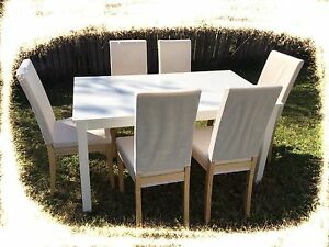 6 NEW CHAIRS with TABLE dining set $390-$170SAVE$220 Chatswood Willoughby Area Preview