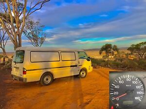 2002 Mazda, Long Wheel Base, Digital Nomad Van (iVan) Surry Hills Inner Sydney Preview