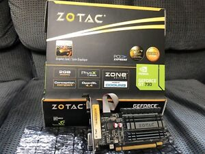 ZOTAC GT 730 2 gb - HDMI, DVI, VGA - NVIDIA- brand new