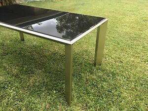Glass Dining Table - 1800x930 Capalaba Brisbane South East Preview