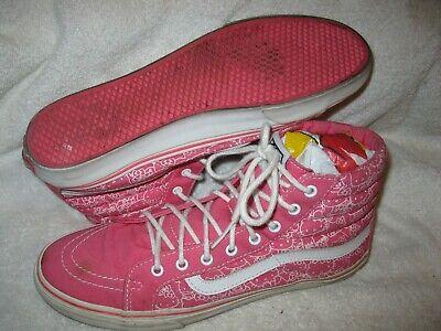 Vans Hello Kitty print unisex skate/casual shoes men's size 9/women's size 10.5