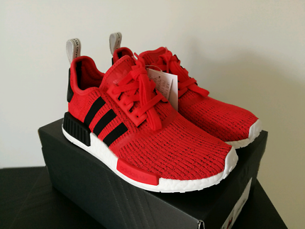 ADIDAS NMD R1 CORE RED & CORE BLACK