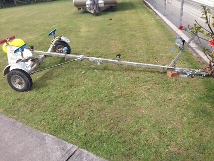 Real Ezy Folding Boat Trailer , suspension  Gulmarrad Clarence Valley Preview