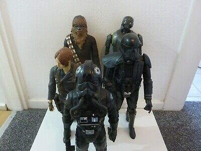 "JOB LOT X5 STAR WARS  JAKKS  18"" INCH BIG FIGS FIGURES"