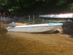 16 foot Sportcraft fibreglass boat for sale