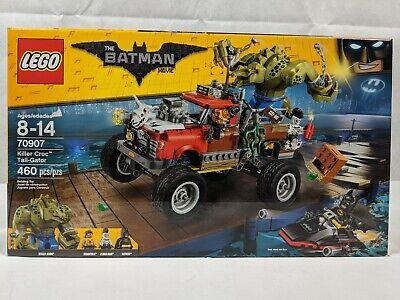 Lego The Lego Batman Movie 70907 Killer Croc Tail-Gator New in Sealed Box