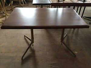 Commercial restaurant tables