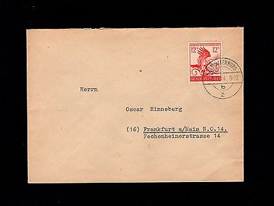 GERMANY WWII 1944 FDC HITLER MUNICH PUTSCH ANNIVERSARY EAGLE SERPENT COVER 1P