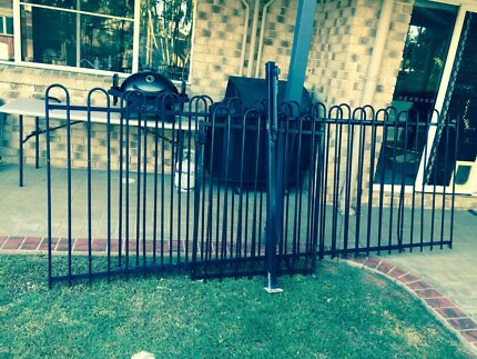 Aluminium pool fencing black Mango Hill Pine Rivers Area Preview