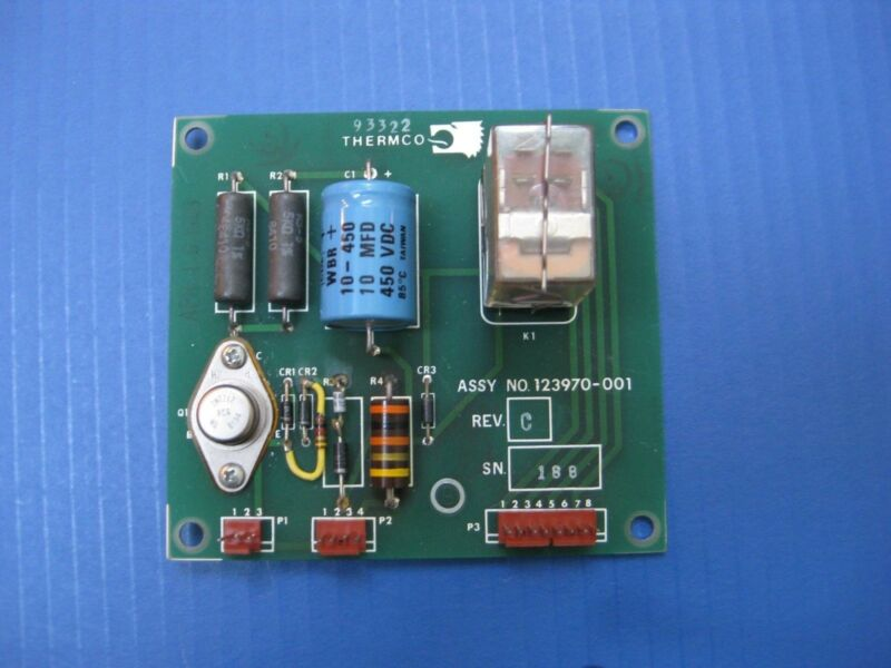 Thermco 123970-001, PCB Assembly