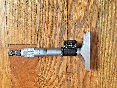 Starrett 446 Digital Micrometer Depth Gage