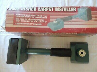 Knee Kicker Carpet Installer
