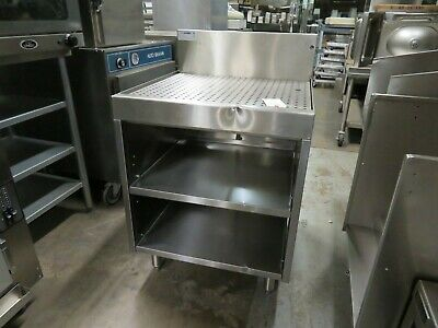 Glastender Dbgr-24 Underbar Glass Rack Storage Unit Drainboard Top 24w