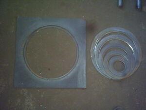 caricamento dellimmagine in corso piastra con cerchietti cm 50x50 cucina a legna