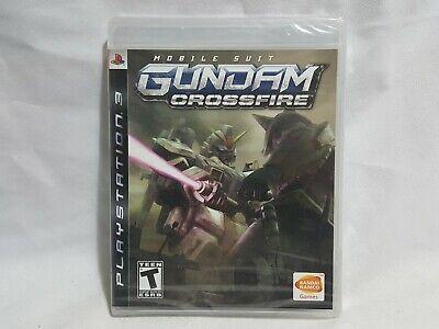 NEW Mobile Suit Gundam Crossfire Playstation 3 Game SEALED PS3 msg US NTSC comprar usado  Enviando para Brazil