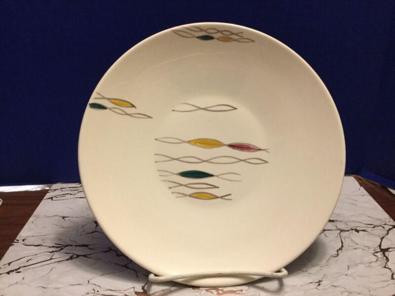 Rare Mid-Century Modern Arizona Canonsburg Pottery Conquista Plate Platter