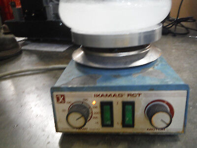 Ika Ikamag Rct Hot Plate Stirrer Laboratory Heated Magnetic Stir Model S19