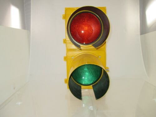 Two Position Traffic Signal with Red/Green LED Lights - TS-LED