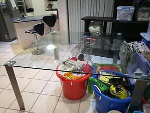 FREE Square Glass Dinning Table Rowville Knox Area Preview