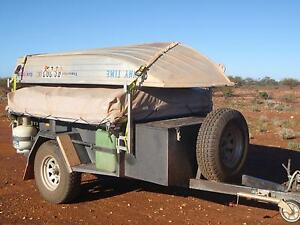 WA Made King Bed Heavy Duty 4x4 Camper Trailer Baldivis Rockingham Area Preview