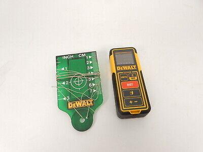 Dewalt Dw099e 100-foot Range Laser Measure Tooldistance Meter