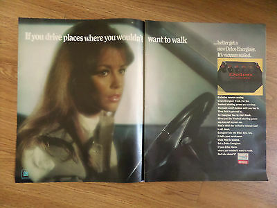 1967 GM General Motors United Delco Service Ad Places you Wouldn't Want