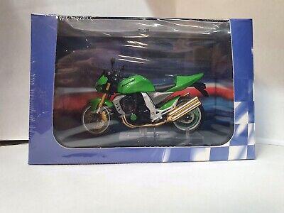 1:24 Scale Model Kawasaki Z1000 Green 2004 Motorbike Superbike Diecast Atlas Ixo