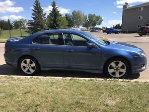 Ford Fusion All Wheel Drive Sports