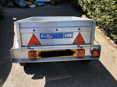 Car trailer, Easy line 105, 3ft by 4ft, Used, but good condition.