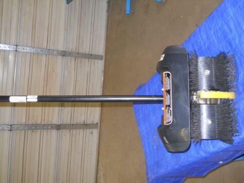 Power Broom trimmer Attachment Craftsman 316.79257 Snow, Dirt, Sidewalks