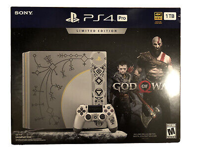 Sony PlayStation 4 Pro 1TB Console God of War Limited Edition with 12 Games