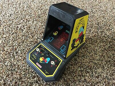 Vtg Midway 1981 PAC-MAN Mini Arcade Table Top Video Game Coleco